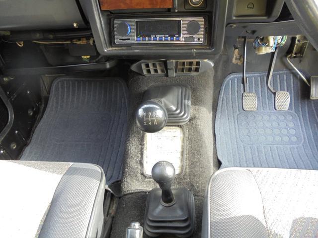 サマーウインド リミテッド 4WD5速マニアル オートフリーホイールハブ エアコンパワステ タイミングベルトW/P交換済 タンクガード 社外マフラー マッドタイヤ新品(20枚目)