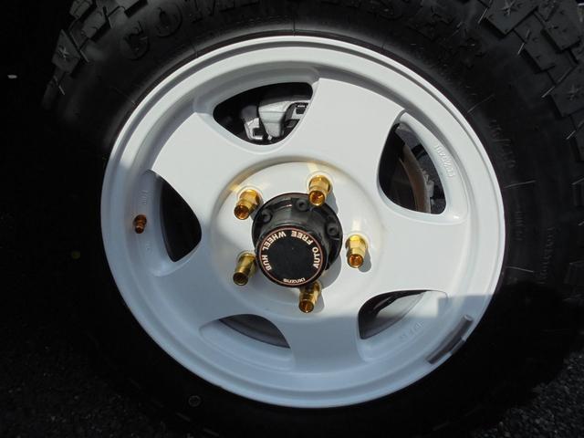 サマーウインド リミテッド 4WD5速マニアル オートフリーホイールハブ エアコンパワステ タイミングベルトW/P交換済 タンクガード 社外マフラー マッドタイヤ新品(28枚目)