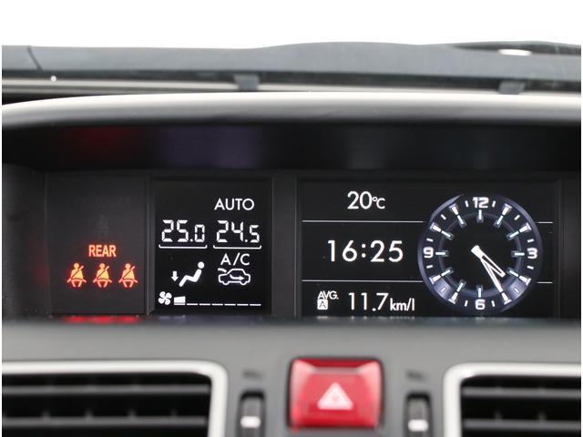 大型のマルチファンクションディスプレイには燃費情報やX-MODEの作動状態など、車両の様々な情報を表示します!