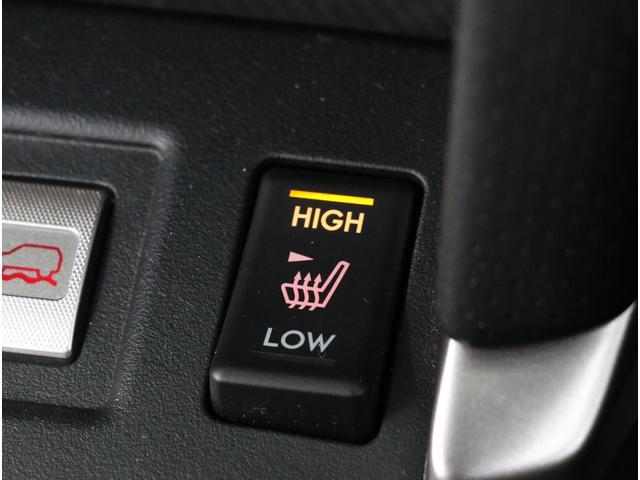 寒い時期には便利なシートヒーターを装備!温度は2段階で調節ができます!
