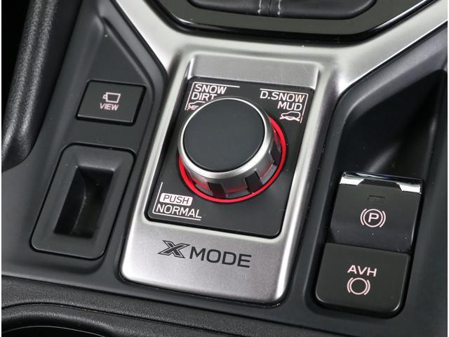 Xモードは誰でもボタン1つで車速を低速に保ってくれるのでハンドル操作だけに集中できる本格SUV機能です!!
