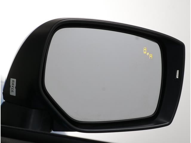 サイドミラーのLEDインジケーターで後側方の車両を検知しドライバーに知らせるリヤビークルディテクションを搭載!!