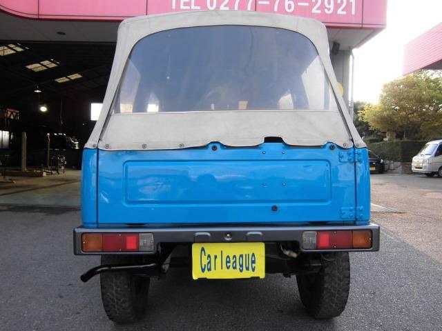CC 5MT 4WD 幌車(3枚目)
