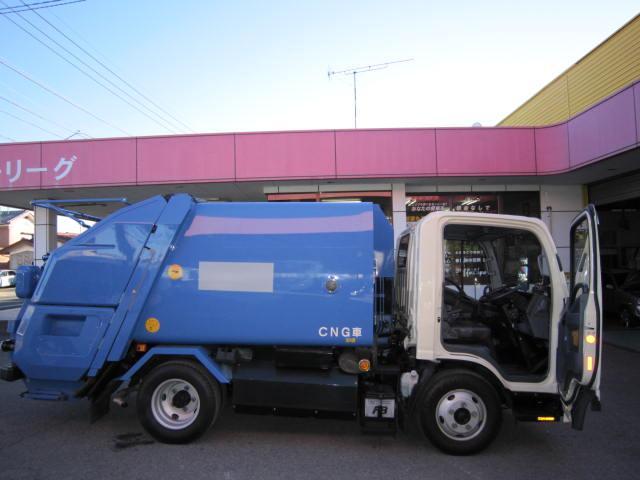 CNG・2トンプレスパッカー4.1立米(4枚目)