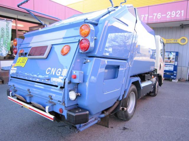 CNG・2トンプレスパッカー4.1立米(8枚目)
