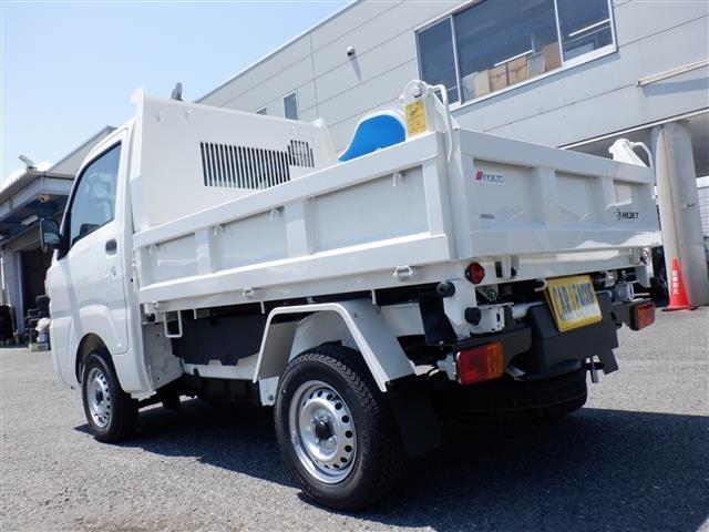 多目的ダンプ PTO式4WDダンプ(9枚目)