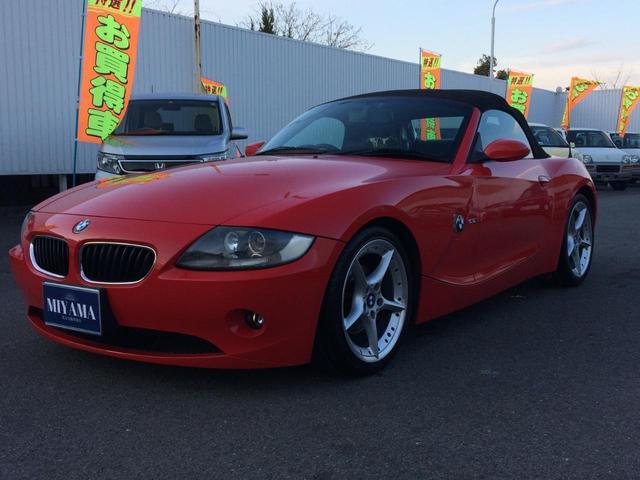「BMW」「BMW Z4」「オープンカー」「群馬県」の中古車3