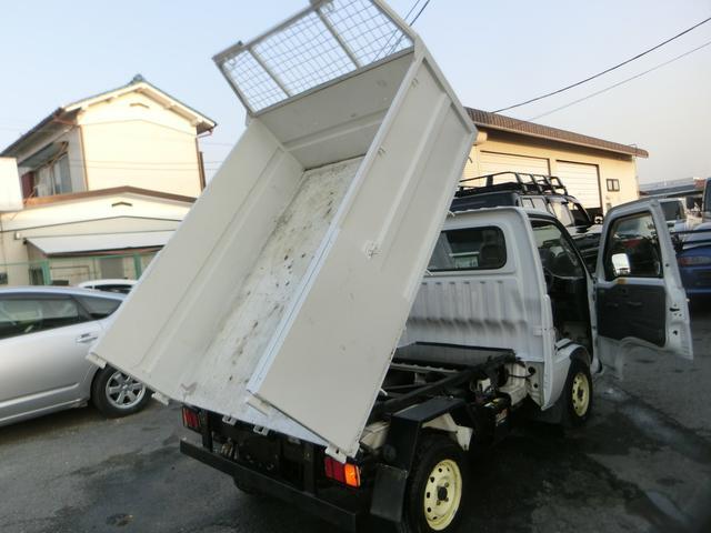 ダイハツ ハイゼットトラック ダンプ 深ワク 同色再塗装仕上げ PTO 5速MT