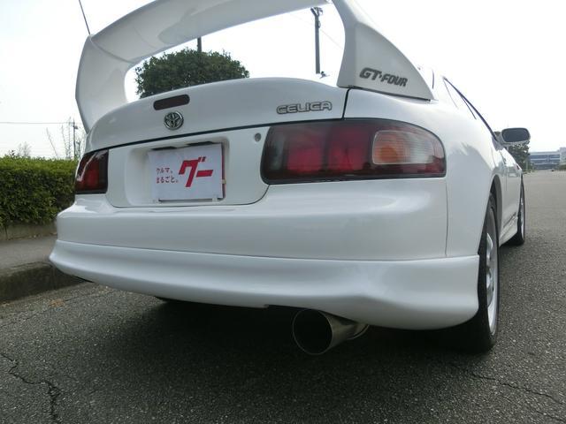 GT-FOUR 最終モデル フルエアロ アルミ マフラー(10枚目)