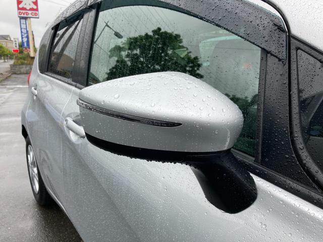 ウィンカーミラーは視認性が良くおしゃれで安全な装備です。