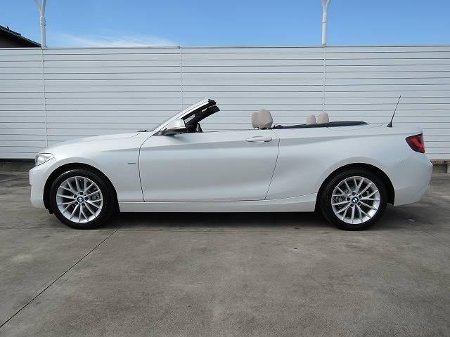 BMW BMW 220iカブリオレ ラグジュアリー ベージュレザー 純正ナビ