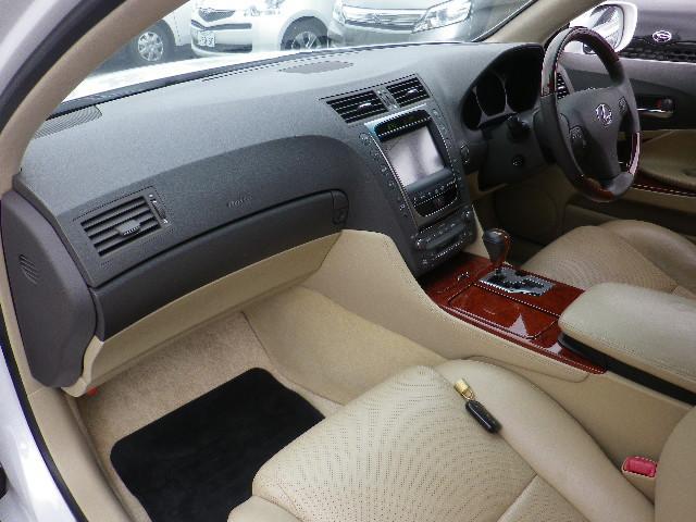 レクサス GS GS350 バージョンI 革ヒーターエアシート