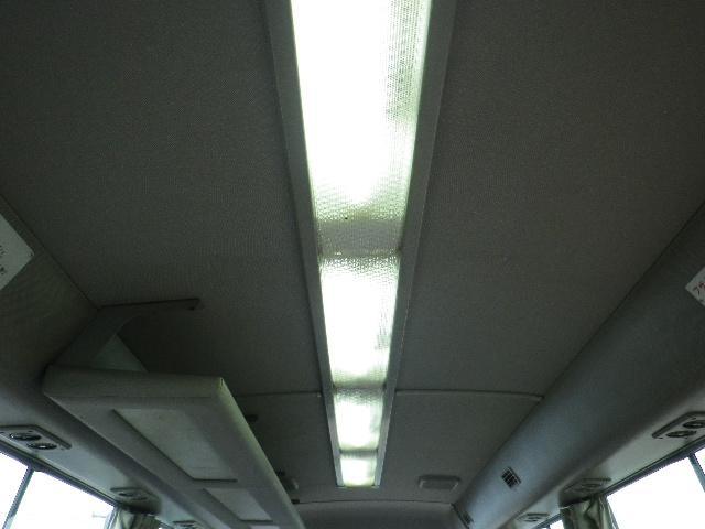 客席蛍光灯。点灯、消灯は運転席にあるスイッチで行います。