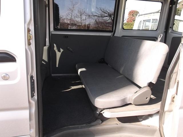 日産 クリッパーバン 4WD オートマチック エアコン パワステ 両側スライドドア