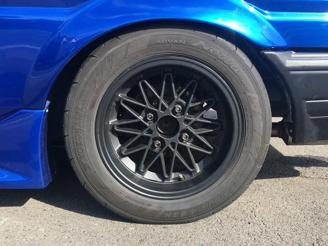 トヨタ カローラレビン GTワイドフェンダーフルタップ車高調フルピロ4.8デフ