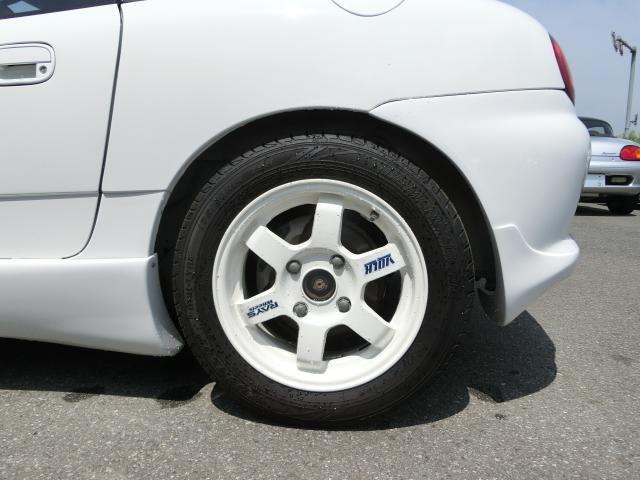 左後ろタイヤです。