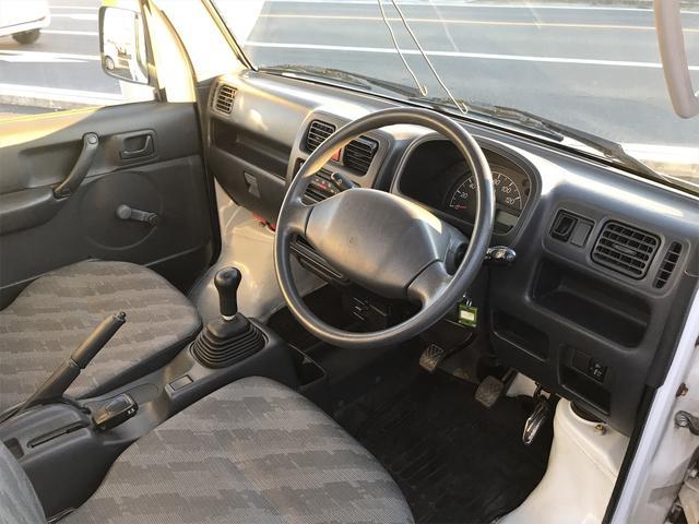 KCエアコン・パワステ 5速マニュアル 4WD 走行距離53559km(14枚目)