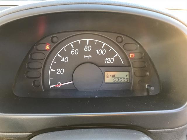 KCエアコン・パワステ 5速マニュアル 4WD 走行距離53559km(16枚目)