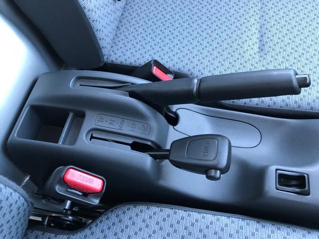 4WD 5速マニュアル エアコン パワステ 届出済未使用車(22枚目)