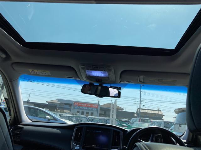アスリートG 純正HDDナビ フルセグ Bluetooth接続 バックカメラ サンルーフ レザーシート スマートキー クルコン ドラレコ TRDフルエアロ 車高調(18枚目)