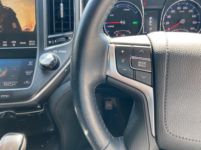 アスリートG 純正HDDナビ フルセグ Bluetooth接続 バックカメラ サンルーフ レザーシート スマートキー クルコン ドラレコ TRDフルエアロ 車高調(37枚目)