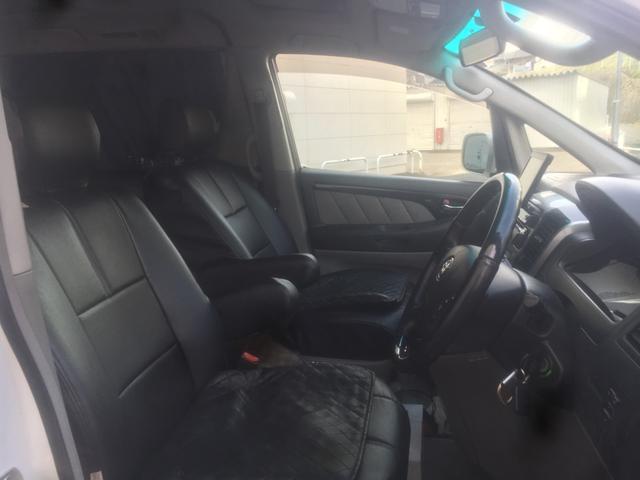 トヨタ アルファードG MS カロッエリアHDDサイバーナビ サンルーフ 4WD
