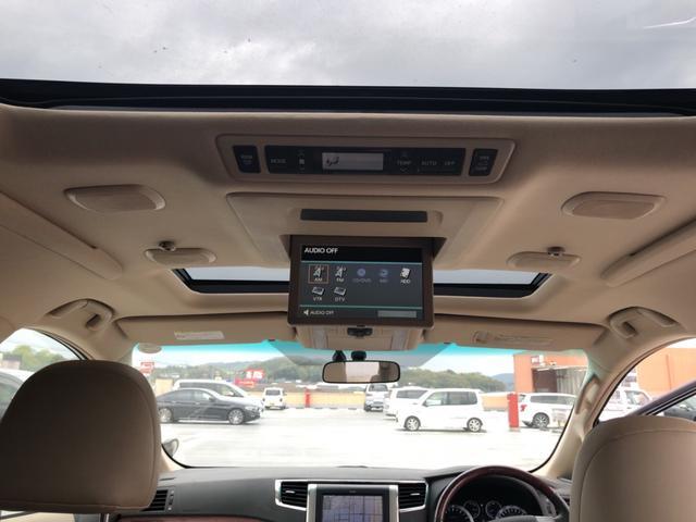 トヨタ ヴェルファイア 3.5V Lエディション 純正HDDナビ リアエンター付き