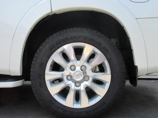 米国トヨタ セコイア プラチナム レッドロック SR パワーバックゲート 167