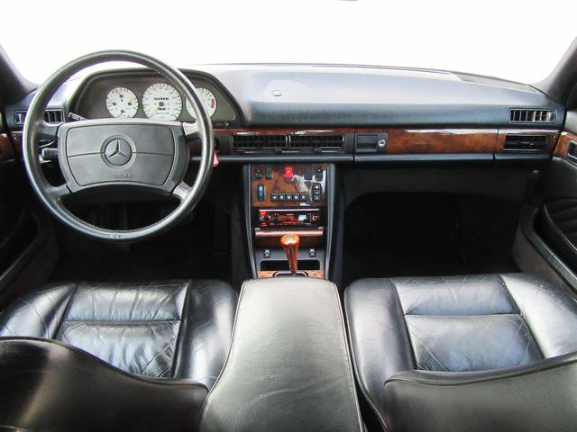 W126 560SEC 左H サンルーフ AMG16AW(10枚目)