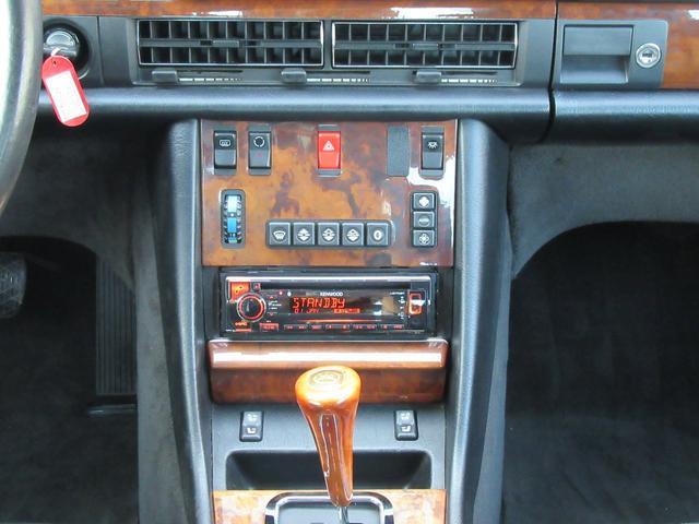 W126 560SEC 左H サンルーフ AMG16AW(13枚目)
