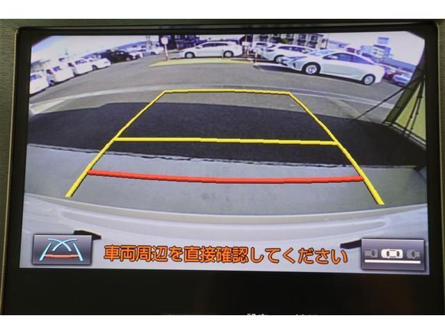 後退時にカラー映像で後方視界を映し出してくれるので、人や障害物の確認ができ安心して駐車していただけます!
