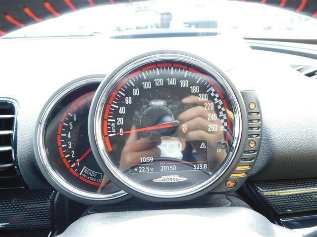 ジョンクーパーワークス クラブマン 4WD パドルシフト ETC ヘッドアップD ディーラー車(17枚目)