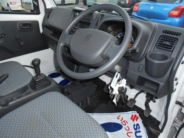 KCエアコンパワステ 4型 4WD&5MT AM&FMラジオ(9枚目)