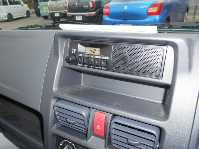 KCエアコンパワステ 4型 4WD&5MT AM&FMラジオ(10枚目)
