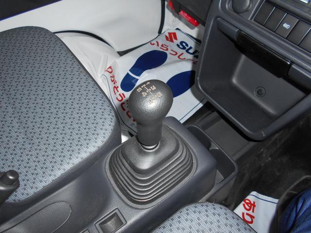 KCエアコンパワステ 4型 4WD&5MT AM&FMラジオ(11枚目)