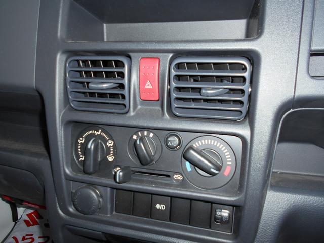 KCエアコンパワステ 4型 4WD&5MT AM&FMラジオ(16枚目)
