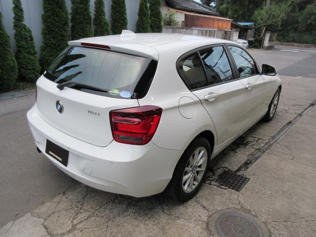 BMW BMW 116i スタイル 純正HDDナビiDrive バックカメラ