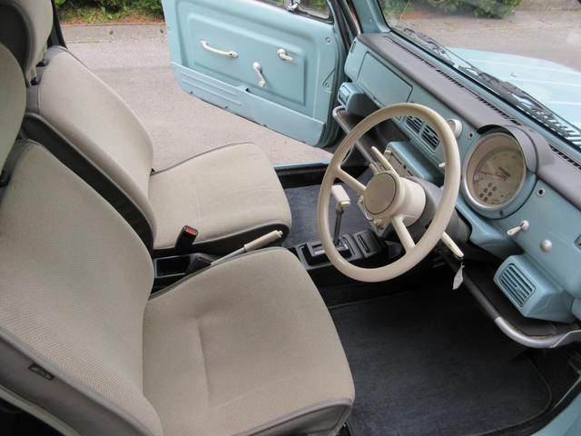 程度が良く、綺麗なドライバーシート。視界もよく、老若男女問わず乗りやすいと思います。是非、お座り下さい☆☆☆