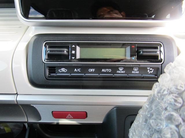 ハイブリッドX 届出済未使用車 衝突被害軽減ブレーキ 前後誤発進抑制 スマートキー プッシュスタート オートエアコン 後退時ブレーキサポート ロールサンシェード スリムサーキュレーター シートヒーター(15枚目)