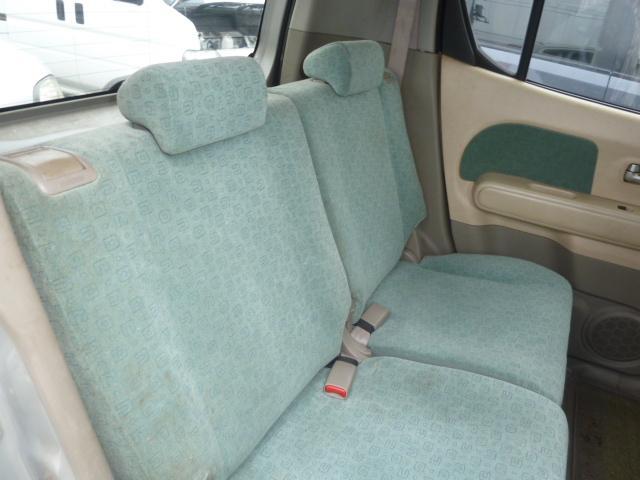 日産 モコ S フル装備 ベンチシート キーレス 盗難防止システム
