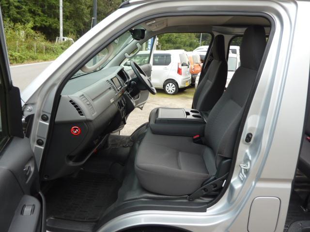 トヨタ ハイエースバン ロングDX4WD5ドアATディーゼルTB6人乗りナビBカメラ