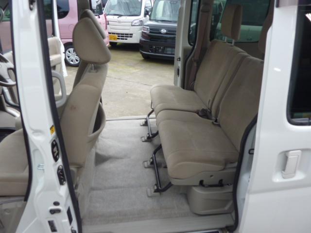 カスタムターボR キーレス 両側スライドドア 後席分割シート(14枚目)