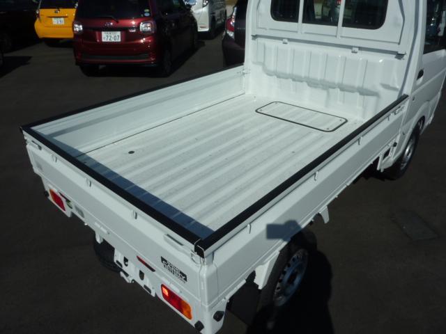 KCエアコン・パワステ 4WD 5F フロア&荷台マット(12枚目)