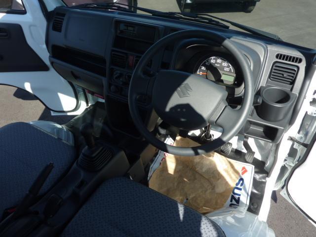 KCエアコン・パワステ 4WD 5F フロア&荷台マット(14枚目)