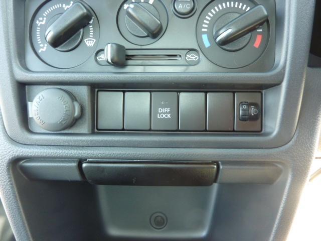 KCエアコン・パワステ 4WD 5F フロア&荷台マット(17枚目)