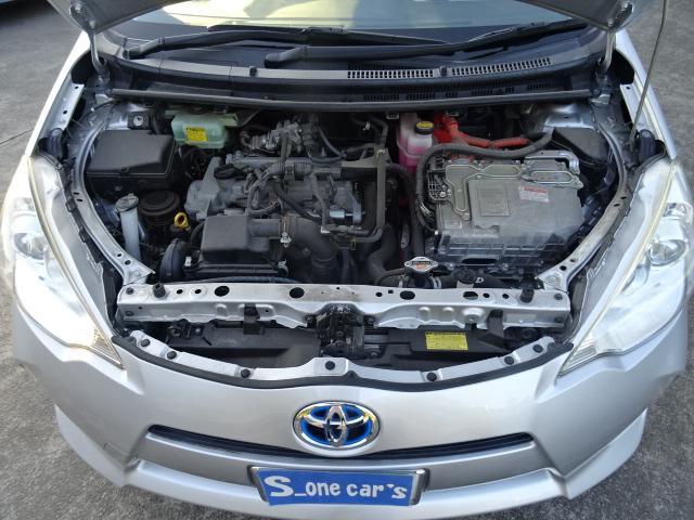 S 純正SDナビ地デジBluetooth キーレス付 パワーウインドウ 電格ミラー オートエアコン 衝突安全ボディ ABS Wエアバック(17枚目)