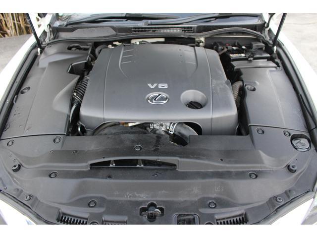 IS250 バージョンL メーカーHDDナビ 黒革シート シートヒーター シートエアコン フルセグ バックカメラ クルーズコントロール パワーシート シートメモリー パドルシフト 純正17インチアルミホイール(20枚目)