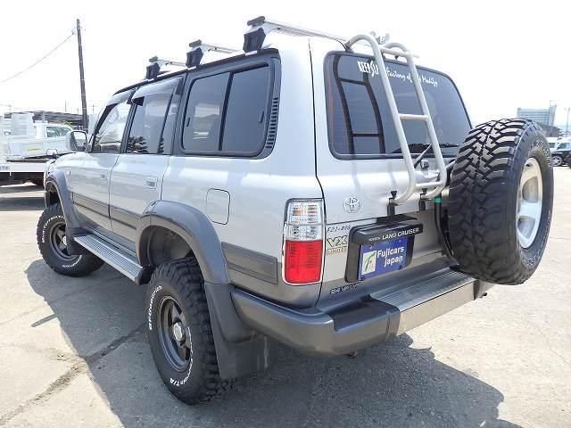 トヨタ ランドクルーザー80 VXリミテッド SR リフトUP 純グリルガード ABS