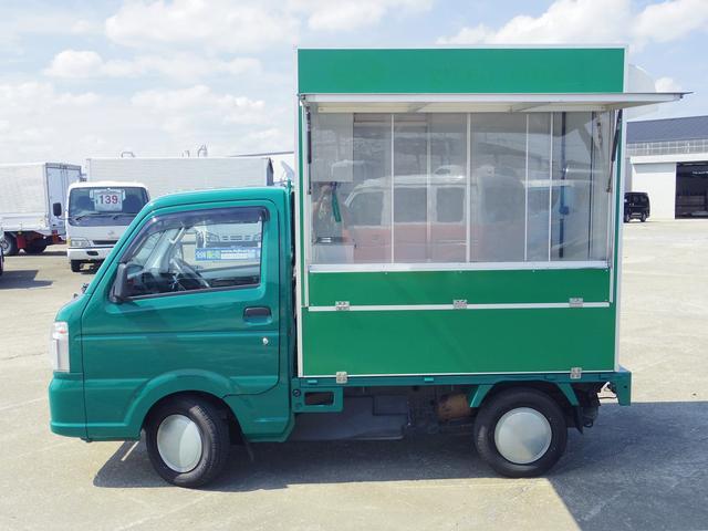 平成27年 スズキ キャリイトラック 移動販売車 キッチンカー 移動カフェ 入庫しました☆