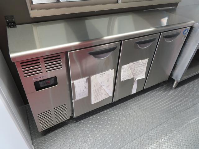 コールドテーブル新品装備♪冷蔵のみになります!